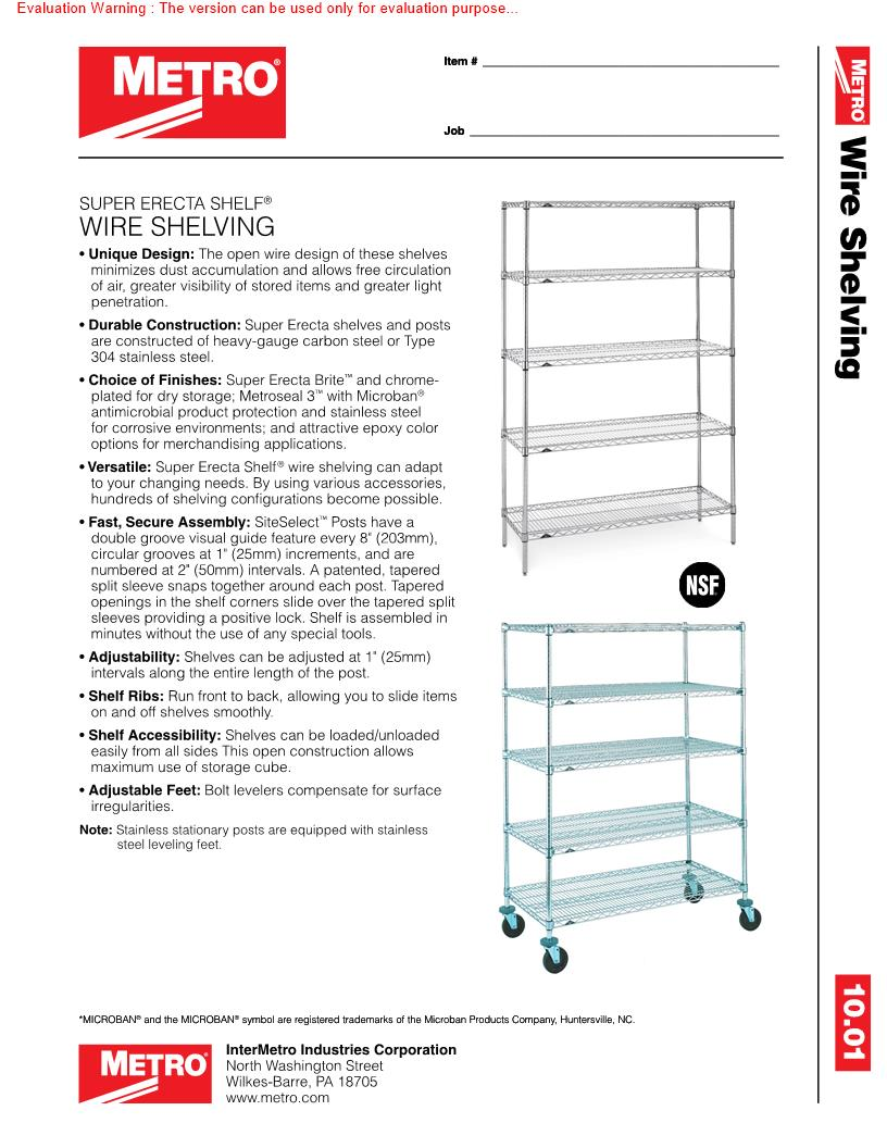 Spare Parts And Accessories For Metro Super Erecta Add On